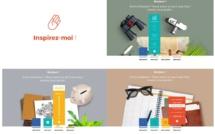 L'aéroport Marseille Provence a lancé un nouveau site : inspirez-moi.fr - Capture écran