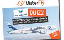 Misterfly et Air Austral font gagner deux billets pour la Réunion