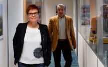 Pauline Brionne, directrice, et Guillaume Dufresne, président d'Envol Espace - DR : Maryvonne Desdoits