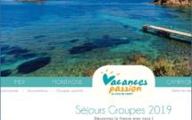 Vacances passion vient de dévoiler sa brochure groupes 2019, à l'attention des autocaristes, entreprises, groupes sportifs, associations et comités d'entreprise - DR : Vacances Passion