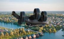 Uber montre les lignes de son futur drone taxi qui pourrait bientôt survoler Paris - crédit photo : Bell