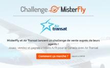 MisterFly et Air Transat font gagner 2 billets A/R pour le Canada aux agences