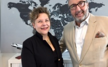 Sophie Lacour, fondatrice d'Advanced Tourism et Frédéric Lorin, Directeur d'IFTM Top Resa - DR