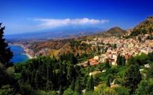 Sicile : Taormina, la grecque, sentinelle de l'Etna