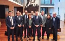 Les membres du Comité de Filière Tourisme dont la première réunion a eu lieu le 16 janvier 2020 - Photo DR