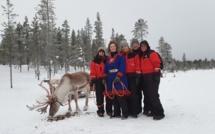 Début janvier, 4 expéditrices de Travel Europe se sont rendues dans ce paradis blanc, pour une immersion totale au cœur des paysages du Grand Nord - DR : Travel Europe