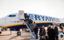 La semaine du 27 mars au 2 avril Ryanair n'opérera aucun vol depuis ou vers la France - DR