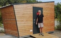Yves Poullain a lancé son projet Hello Cabanes en 2018, pour répondre au manque d'offres d'hébergements pour les touristes itinérants - DR : Hello Cabanes