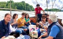 Balade en bateau traditionnel sur la Loire - DR : Val de Loire Travel