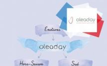 Oleaday - Illustratrice Bleu Carmin