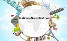 #LaBonneNouvelleduJour : plus de la moitié des pays ont levé les restrictions sur les voyages !