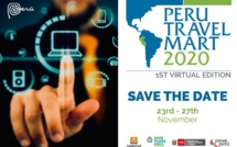 "Le salon ""Peru Travel Mart"" se tiendra en version virtuelle en novembre"