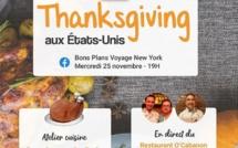 Le cours de cuisine de Voyage en français a lieu mercredi 25 novembre à 19h - DR