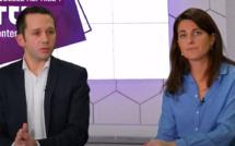Vincent Etchebehere Air France et Valérie Darmaillacq SNCF - DR