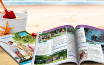 Nouvelles brochures du service vacances de la Ligue de l'Enseignement - DR