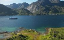 L'Express Côtier : depuis 120 ans il assure en toutes saisons la ligne des fjords norvégiens. - DR