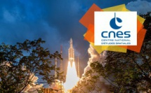 Décollage Ariane 5 / ©CNES/ESA/Arianespace – Optique vidéo du CSG