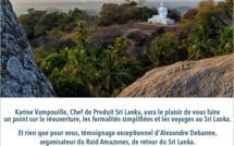 Visio consacrée au Sri Lanka organisée par Asia avec la participation d'Alexandre Debanne - DR