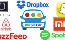 Uber, Airbnb, Blablacar: high-valued startups - DR