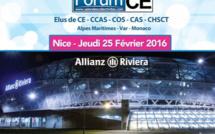 La prochaine édition du Salon des CE et des Collectivités de Nice se tiendra au stade Allianz Riviera le 25 février 2016 - DR : ForumCE