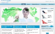Le site Internet de Navitaire - DR Capture écran