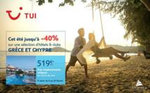 TUI : -40 % en Grèce et à Chypre jusqu'au 23 février 2016