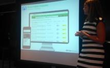 Maud Larpent, directrice des partenariats chez Tripadvisor nous présente la Réservation Instantannée (c) JG