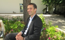 """Julien Faycger directeur général des villages """"Cap'Vacances"""". Photo MS."""