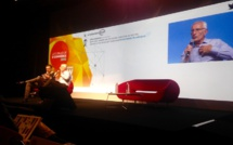 Guillaume Pepy, président de la SNCF lors des Enjeux E-commerce 2016 de la Fevad (c) JG
