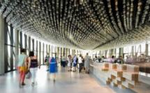 Avec 40 000 visiteurs en un ois, le lancement de la Cité du Vin à Bordeaux est un succès - Photo : Anaka/La Cité du Vin