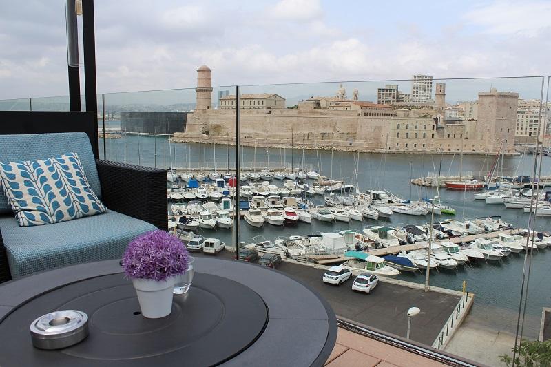 Marseille le sofitel d voile sa nouvelle terrasse - Hotel marseille vieux port avec parking ...